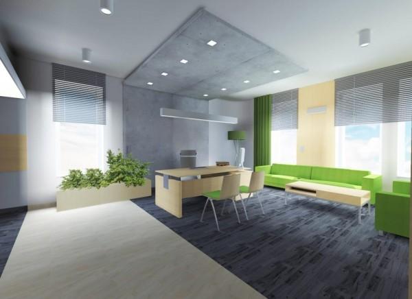 Oświetlenie biura we współpracy z pracownią architektoniczną ARH+ z Białegostoku