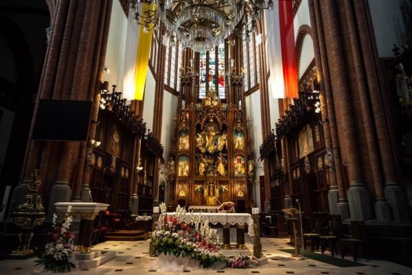 Rekonstrukacja oświetlenia wnętrza Katedry Białostockiej