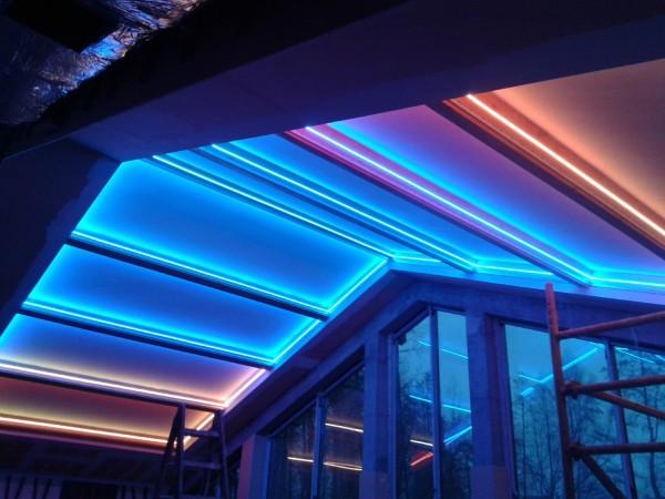 Oświetlenie Barrisol w Hotelu Astoria w Busko Zdroju przy współpracy z p. Wojciechem Lechem