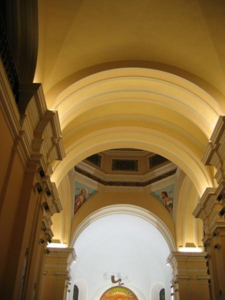Oświetlenie w Kościele Katedralnym w Łomży