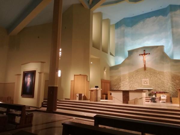 Oświetlenie Kościoła pw. Świętej Rodziny w Białymstoku