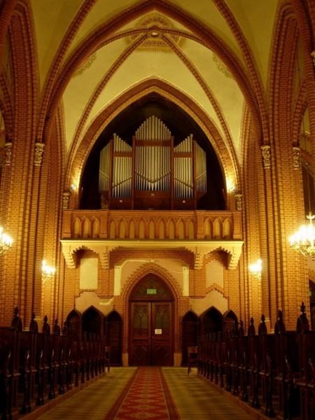 Oświetlenie Kościoła pw. Św. Stanisława w Kobylinie - Borzymach