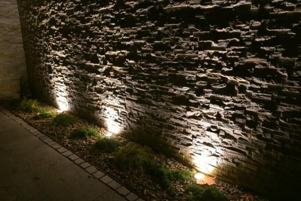 Iluminacja domu prywatnego pod Łomżą