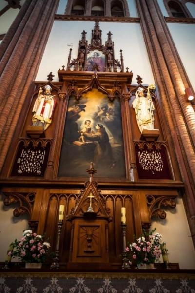 Oświetlenie wnętrza Kościoła