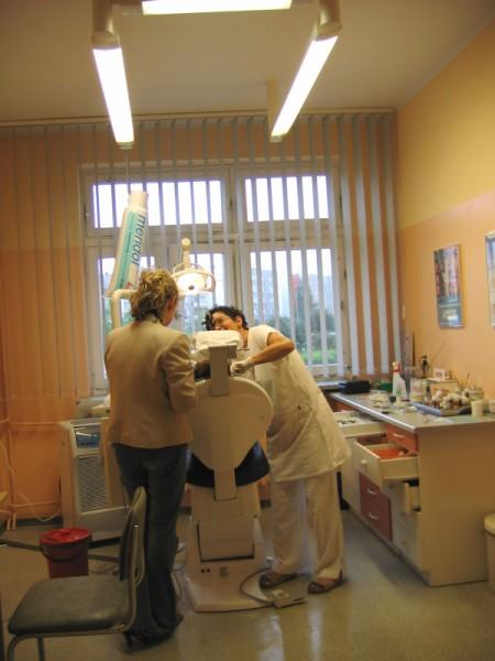 Oświetlenie gabinetu dentystycznego Białystok dr. Krystyny Lewandowskiej 2002 rok
