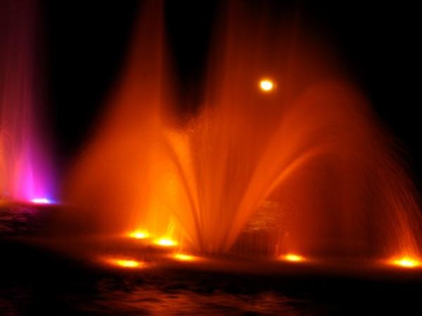 Oświetlenie fontanny Planty Białystok