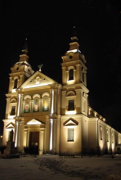 Iluminacja Kościoła pw. Św. Jana Chrzciciela w Wysokiem Mazowieckiem