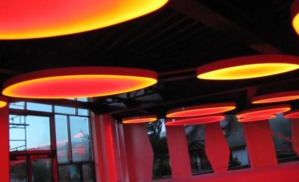 Oświetlenie Barrisol w Osadzie Karbówko przy współpracy z p. Maksymilianem Kleparskim