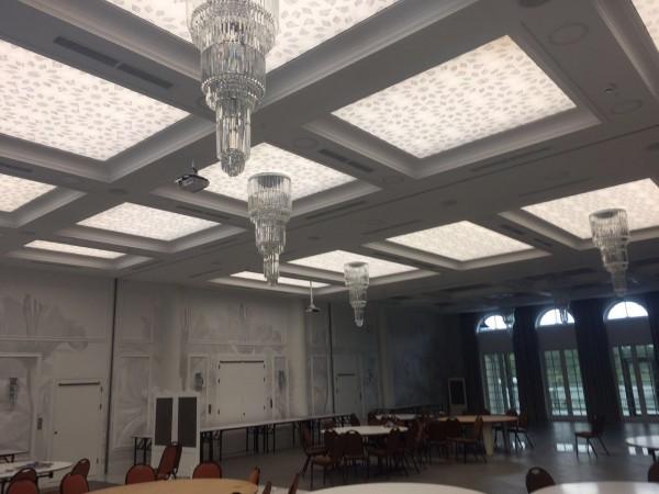 Sala Bankietowa Afrodyta przy współpracy z p. Marcinem Wagnerem Wam-Art