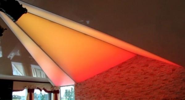 Oświetlenie dynamiczne Barrisol w Jarosławcu przy współpracy z p. Andrzejem Lorensem