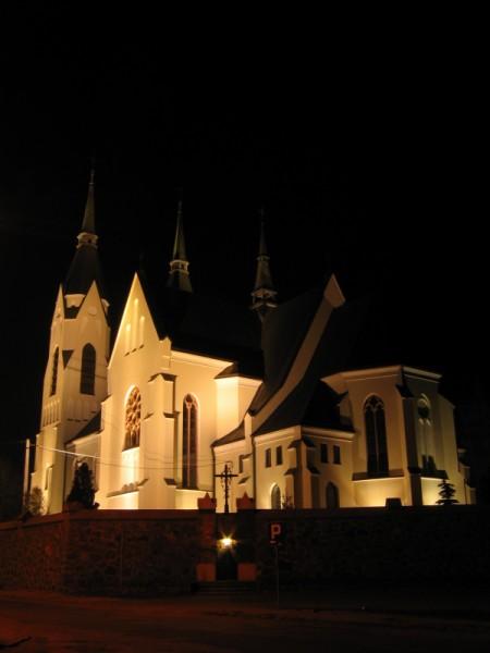 Iluminacja Kościoła pw. Św. Bartłomieja w Kuleszach Kościelnych