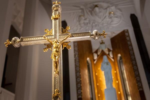 Oświetlenie Kościoła pw. Św. Rocha w Białymstoku, fot. Maciej Nowakowski