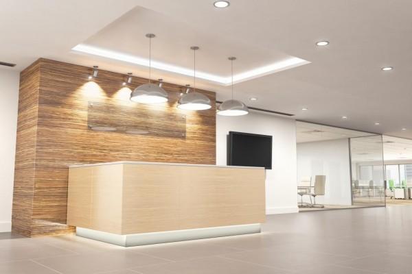 Oświetlenie lobby