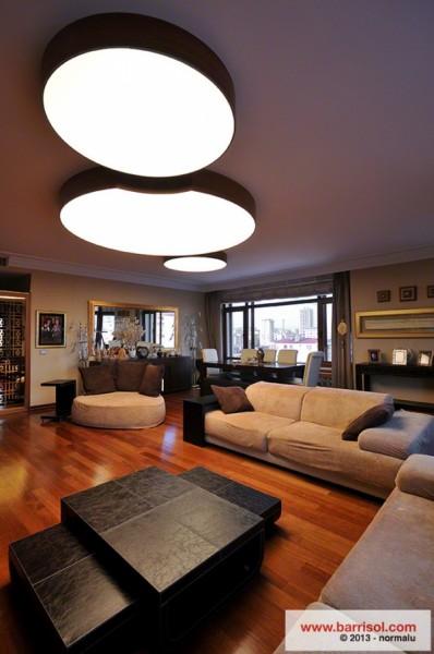 Oświetlenie domu - lampy Barrisol