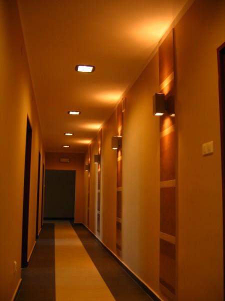 Oświetlenie biura i holu ASTWA wg arch. Agnieszki Dudy