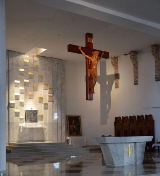 Oświetlenie wnętrza Kościoła pw. Św. Kazimierza Królewicza w Białymstoku