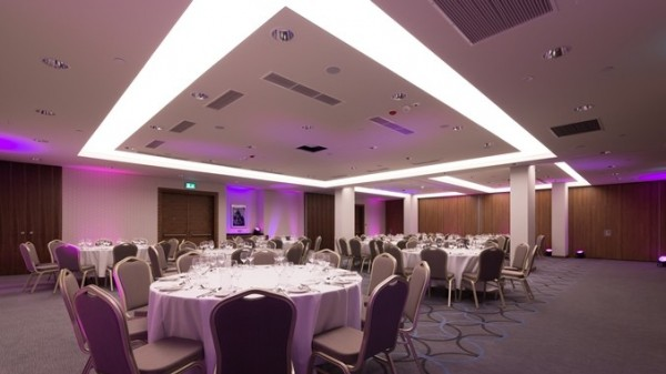 Oświetlenie Barrisol w Hotelu Hilton w Krakowie przy współpracy z p. Wojciechem Lechem