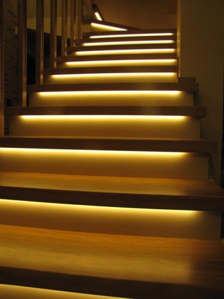Oświetlenie schodów Białystok