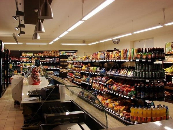 Oświetlenie sklepu