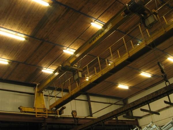 Oświetlenie Zakładu Przemysłowego Cynkomet w Czarnej Białostockiej