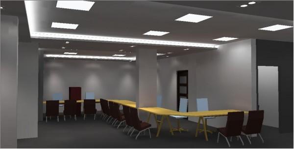 wizualizacja oświetlenia