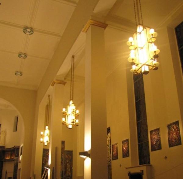 Oświetlenie wnętrza Kościoła pw. Św. Jana Bosko w Sokołowie Podlaskim